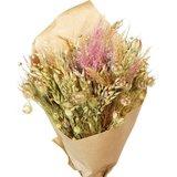 ramo de flores secas rosa