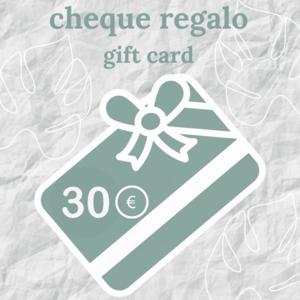 cheque regalo florespana.es 30 euros