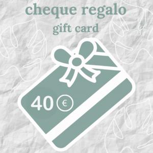cheque regalo florespana.es 40 euros